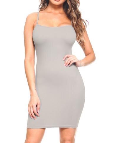 Basic Grey Dress