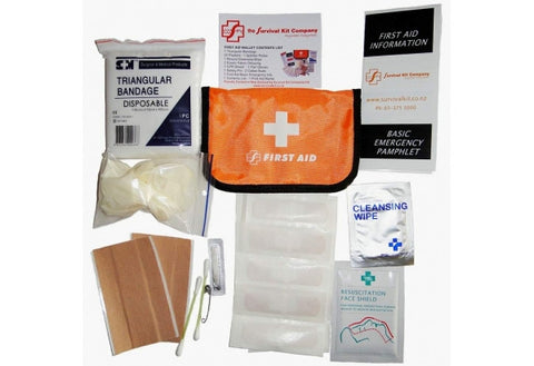First Aid Kit - Wallet First Aid KitsThe Survival Kit CompanyShop.OENZ -Outdoor Education New Zealand