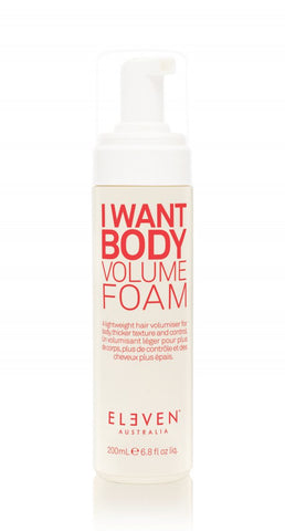 EA I WANT BODY VOLUME FOAM 200ML