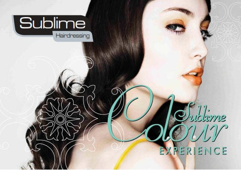 Sublime Colour Experience Voucher (Hard Copy Voucher - Delivered by Post)