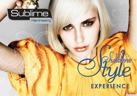 Sublime Style Experience Voucher (Hard Copy Voucher - Delivered by Post)