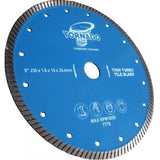 "4.5"" 115mm x 1.2mm Thin Turbo Tile Blade"