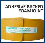 Polythene Adhesive Foam Joint  Tape 75mm * 10mm * 25m