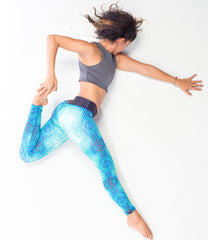 Printed Yoga Pants, Women Fitness Clothing