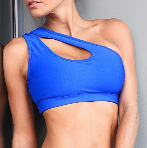 One Shoulder Sport Bra - Bestyfit