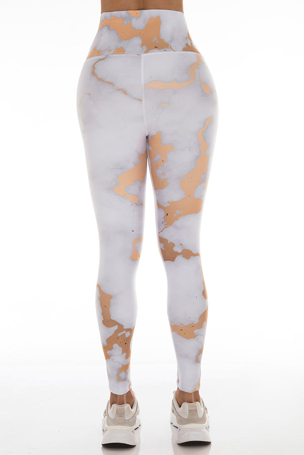 ROSE GOLD MARBLE Leggings