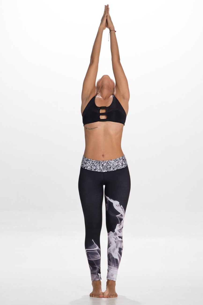 DARK SMOKE Leggings - Bestyfit