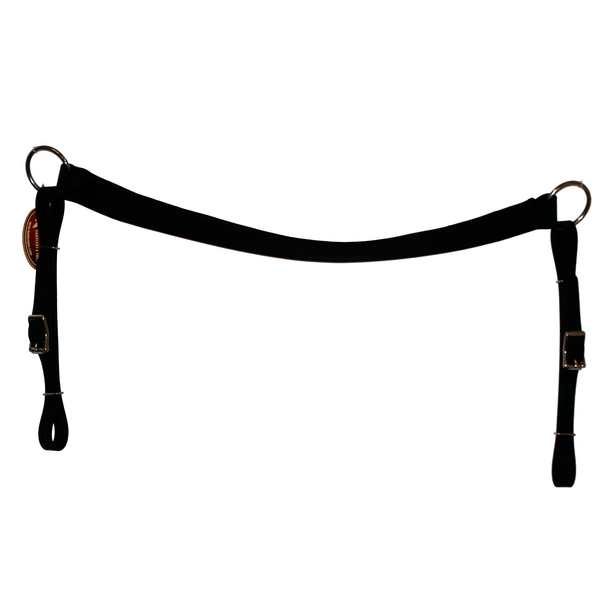 "1 1/2"" Straight Biothane Breast Collar"