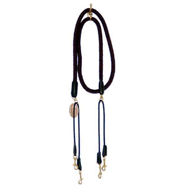 5/8 Black Cotton Pulley Reins