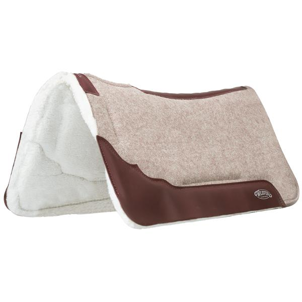 Synergy® Contoured Wool Blend Felt Saddle Pad