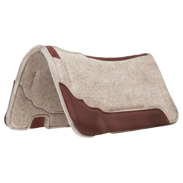Synergy® Contoured Wool Blend Felt Performance Saddle Pad
