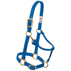 "Original Adjustable Chin and Throat Snap Halter, 1"" Small Horse or Weanling Draft"