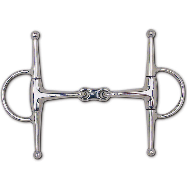 "S.S. French Link Snaffle Full Cheek - 6 1/2"" Cheek"