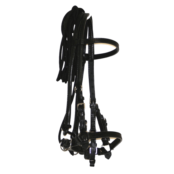 BLACK LEATHER WORK BRIDLE