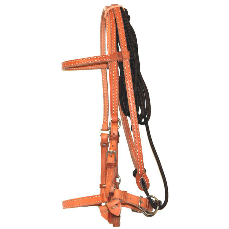 Brown Leather work Bridle