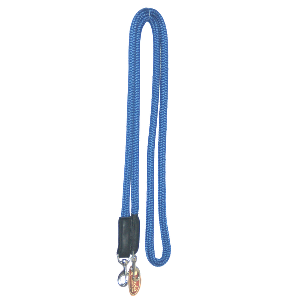 "Royal Blue 5/8"" DB Nylon Reins with S.S Snaps"