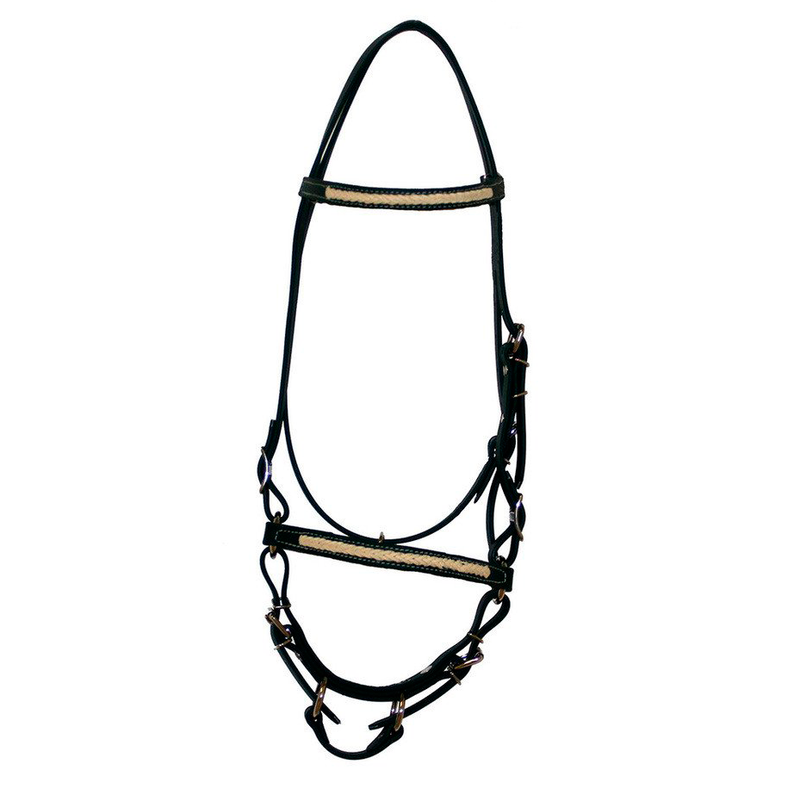 Hunter Green Braided Bridle