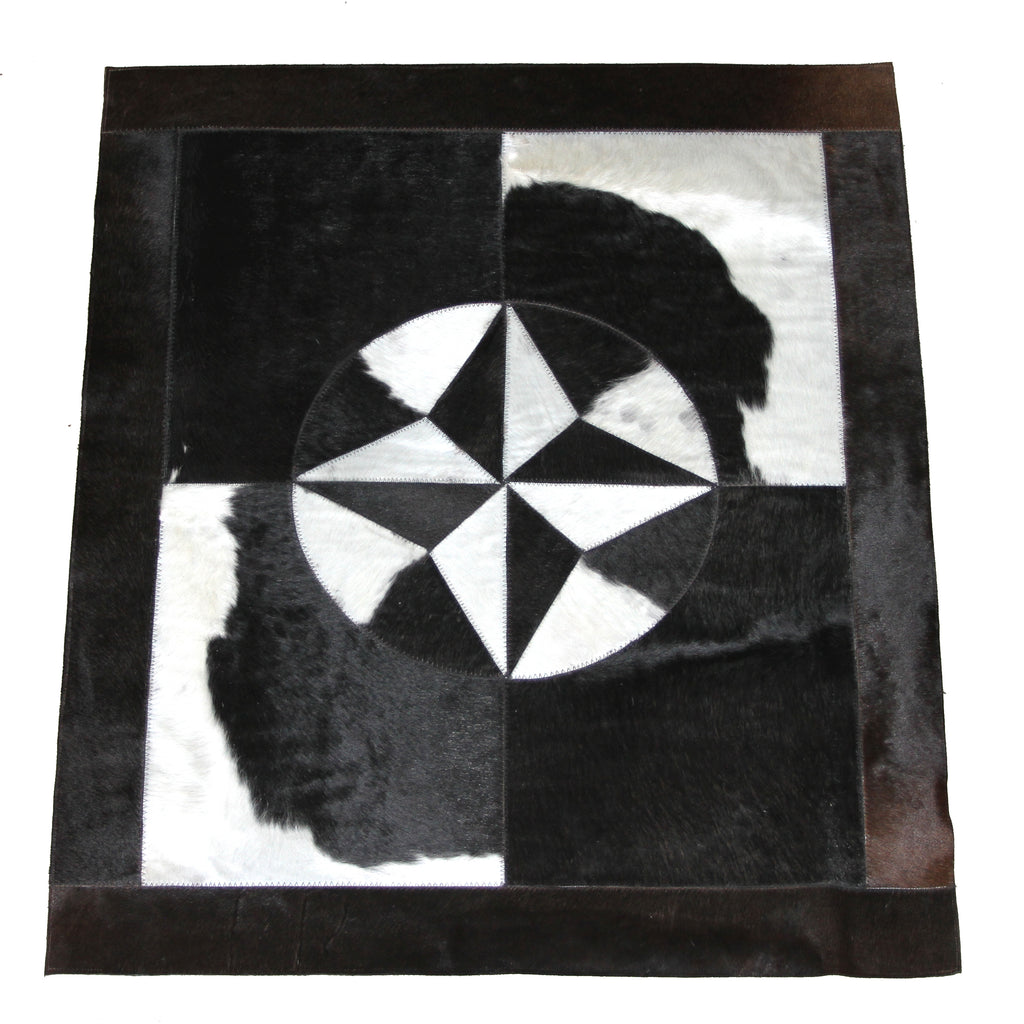 Rectangular Cowhide Rug