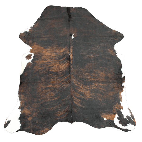 Large Dark Brindle Cowhide