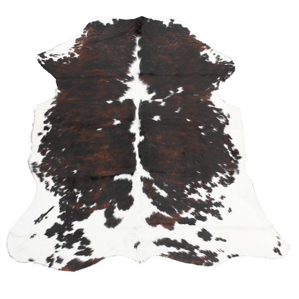 Large Exotic Tricolor Cowhide