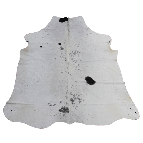 X-Large White Spotted Cowhide