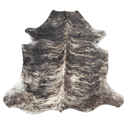 X-Large Gray Brindle Cowhide