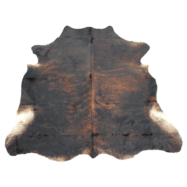 X-Large Dark Brindle Cowhide
