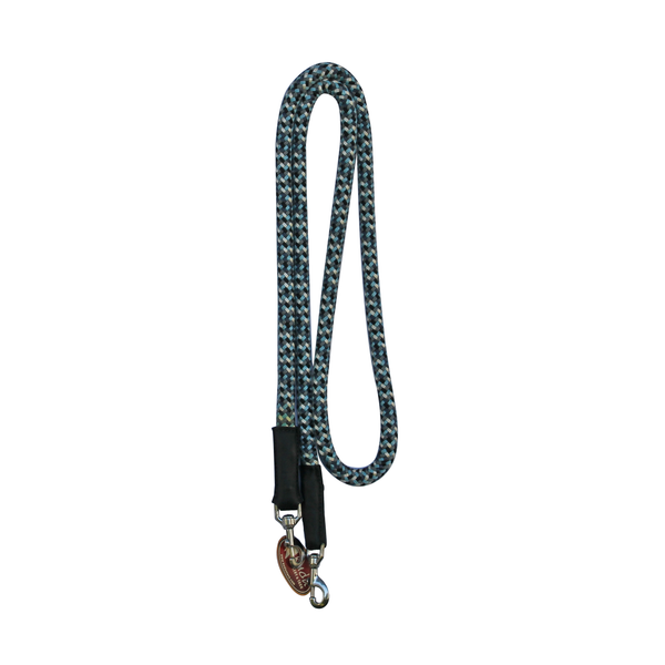 "Blue Camo 5/8"" Nylon Reins with S.S Snaps"