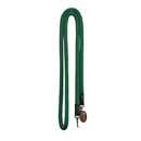 "Green 3/4"" DB nylon Reins with S.S Snaps"