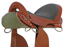"Special McClellan Saddle - 14.5"" Chestnut Narrow - In Stock"