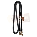 "Black and Grey 3/4"" Pulley Reins"