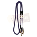 "Purple 5/8"" Double Braided Pulley Reins"