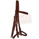 Brown Leather Halter Bridle