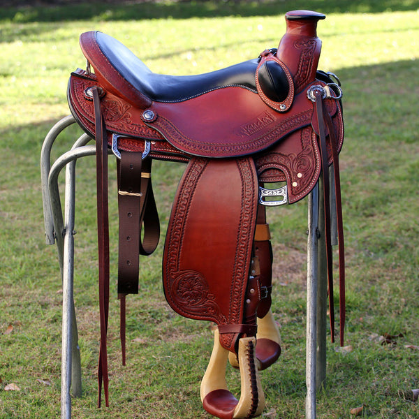 Rancher flex saddle