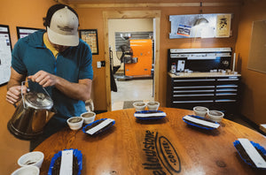 Yellowstone Coffee Cupping Lab
