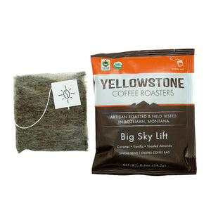 Big Sky Lift Single-Serve 10 Pack | Organic Steeped Coffee