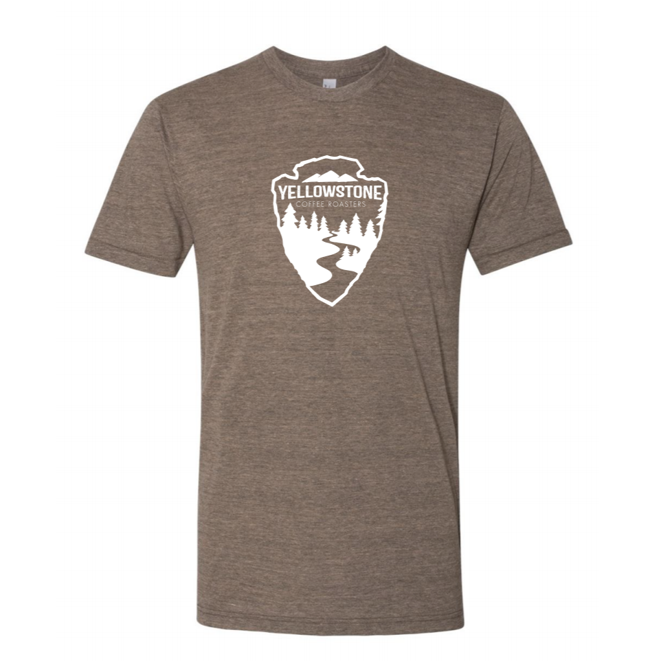 Yellowstone Coffee Arrowhead Tee | Dark Gray