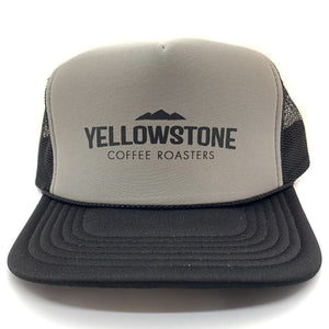 Grey/Black Foam Trucker Cap