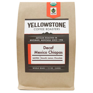 Decaf Mexico Chiapas | Organic Decaf Medium-Dark Roast