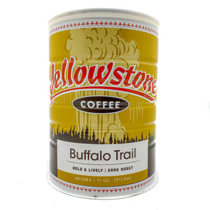 Buffalo Trail - Vintage Can | Organic Dark Roast Blend