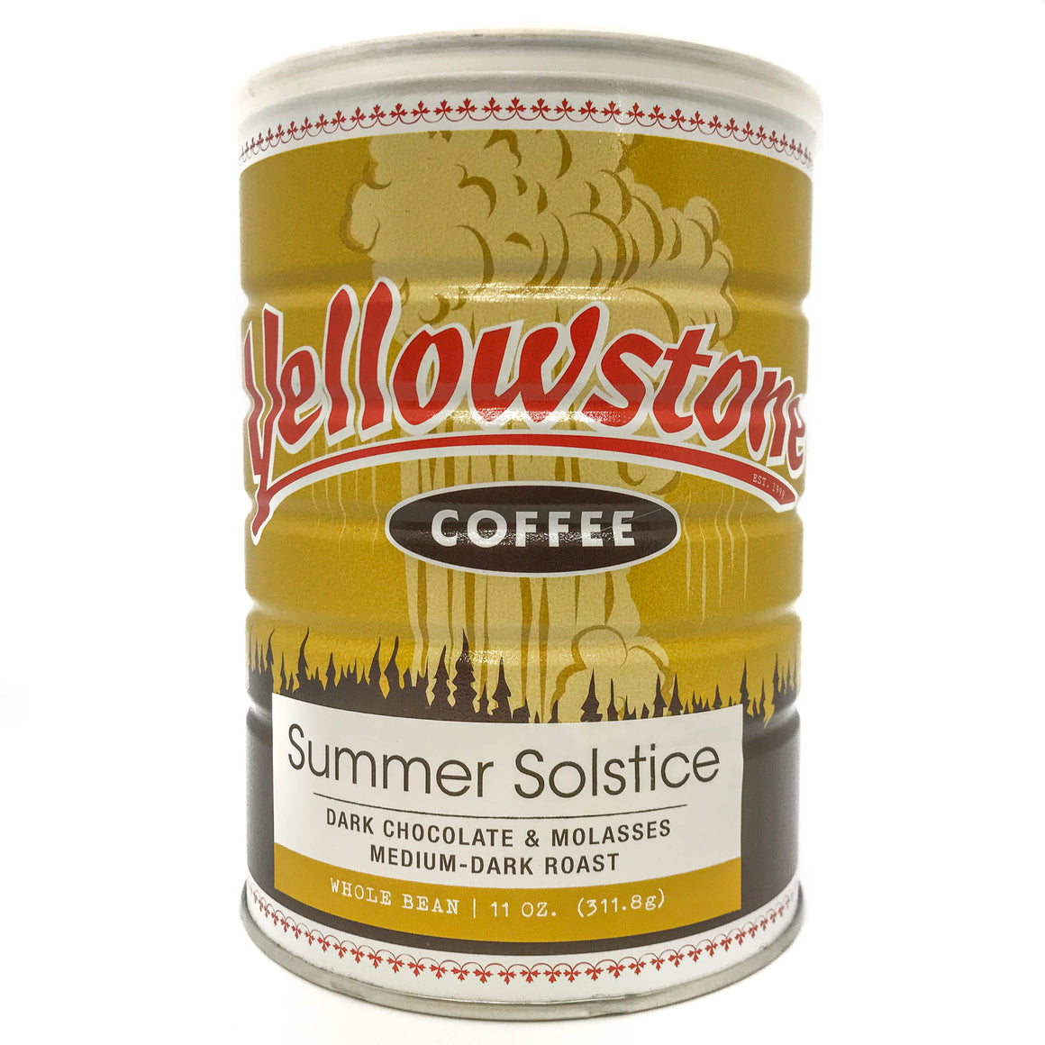 Vintage Coffee Can from Yellowstone Coffee Roasters