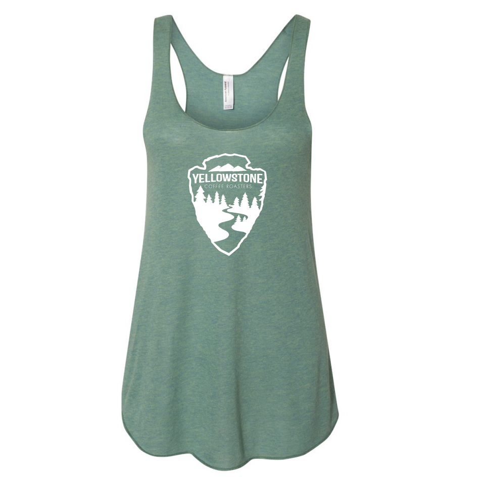 Yellowstone Coffee Arrowhead Women's Tank | Dark Gray