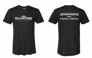 Yellowstone Coffee Classic Logo Tee | Dark Gray