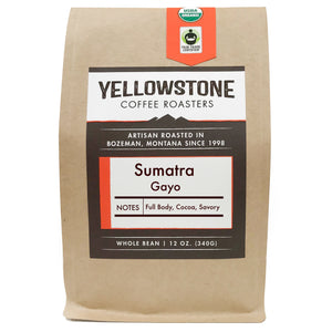 Sumatra Gayo Fair Trade Organic Coffee