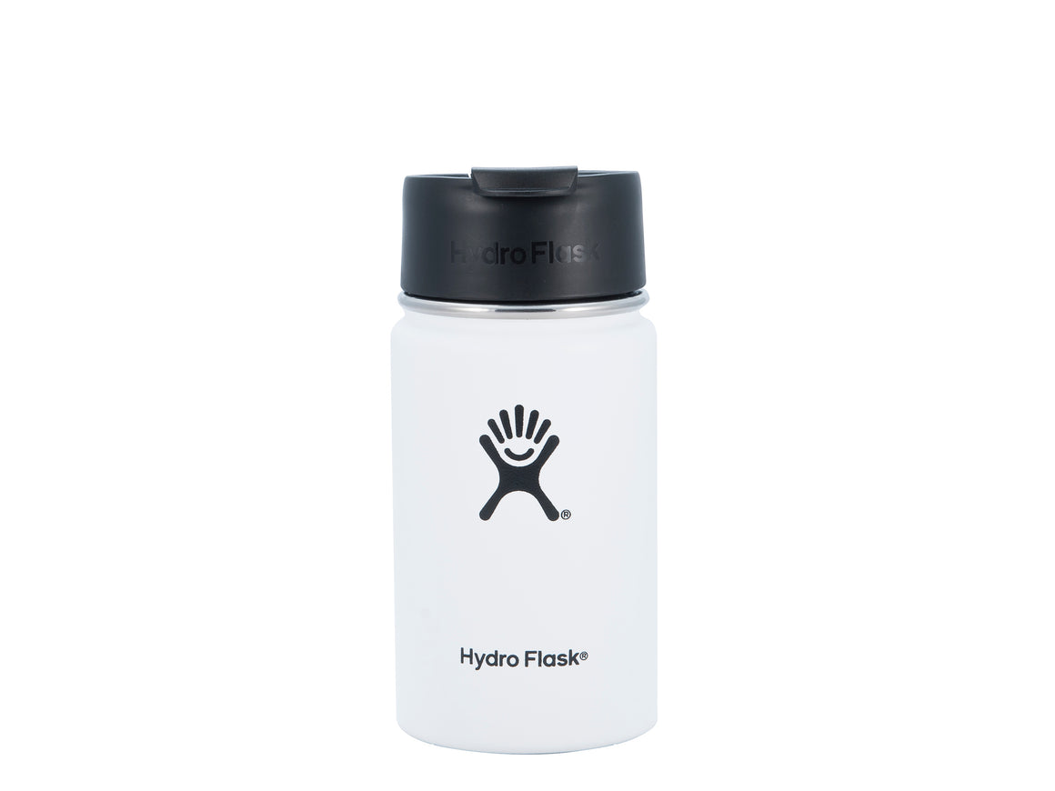 Hydro Flask 12 oz Coffee Flask - White