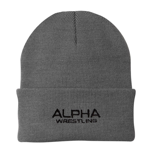 Alpha Wrestling Beanie - Grey