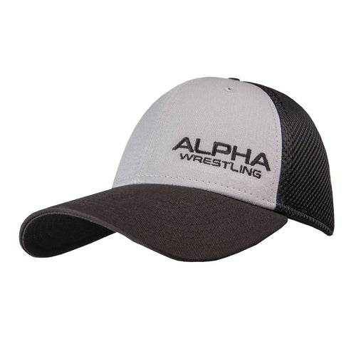 Alpha Wrestling Hat - Grey/Blk
