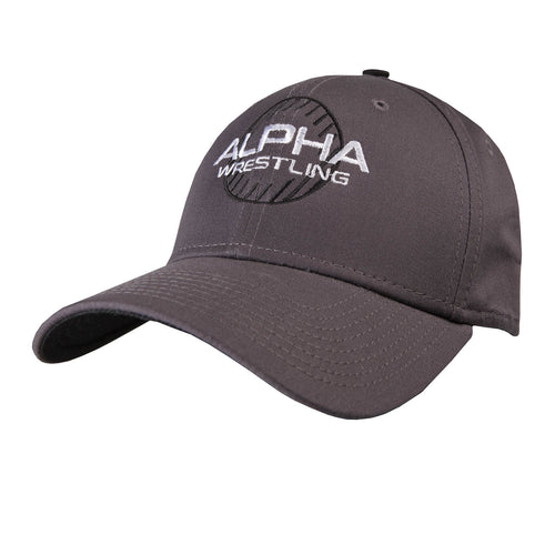 Alpha Wrestling Hat - Grey