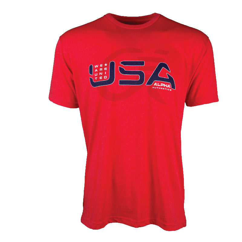 Alpha T-Shirt - USA - We Are Untied (Freedom)