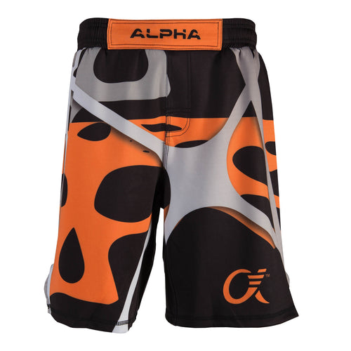 Alpha Fighter Shorts Web - Orange (Web)